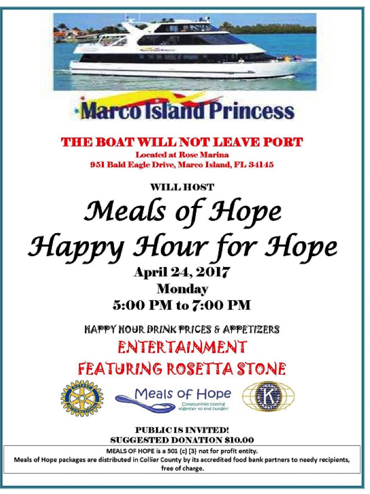 Meals of Hope Happy Hour