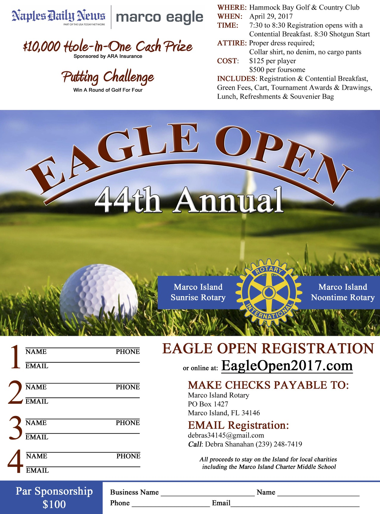 Eagle Open Golf Tournament