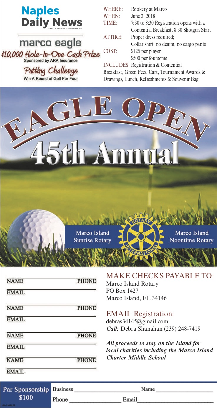 Eagle Open Rotary Golf Tournament